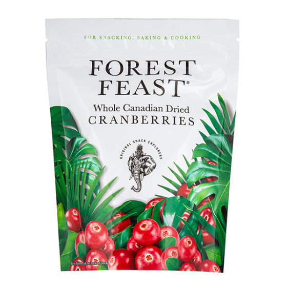 *CANADIAN DRIED CRANBERRIES 6X170G