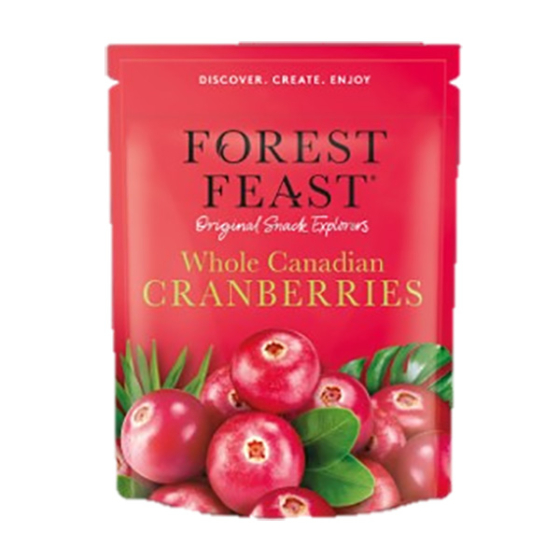 WHOLE CANADIAN CRANBERRIES 6X170G